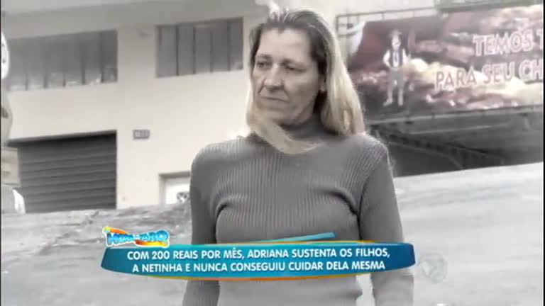 Mudando de Vida: após uma vida difícil Adriana ganha uma linda ...