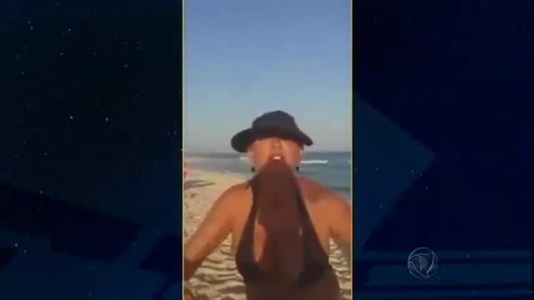 Domingo Espetacular ouve a mulher acusada de racismo em praia ...