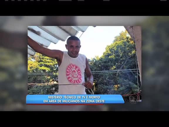 Técnico de TV é morto em área de milicianos na zona oeste - Rio de ...