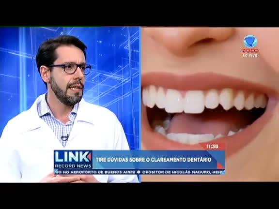 Dentista Flavio Farias Tira Duvidas Sobre Clareamento Dentario