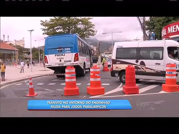 Trânsito volta a ter mudanças no entorno do Engenhão - Rio de ...