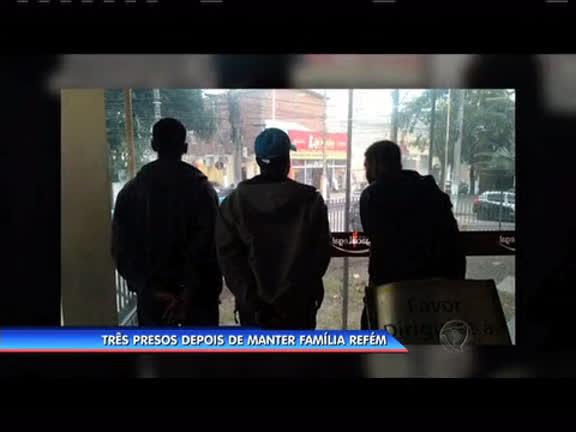 Três homens são presos depois de manter família refém em Niterói ...