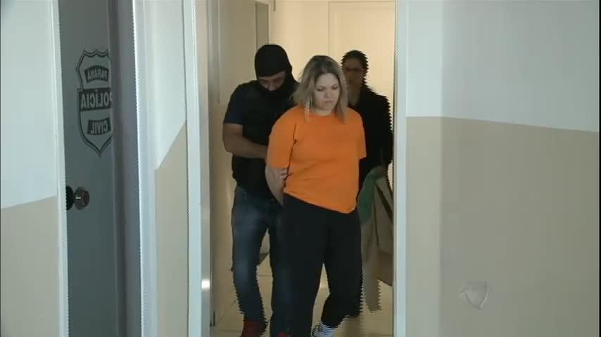 Loira do crime: mulher é presa acusada de integrar quadrilha ...
