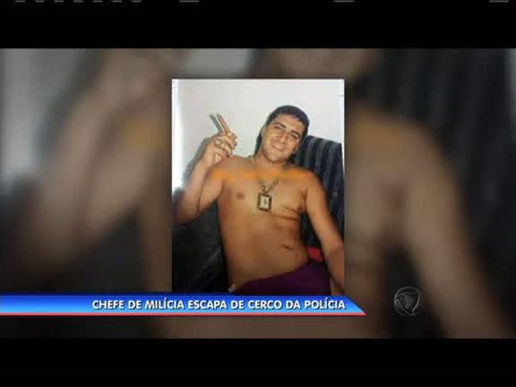 Chefe de milícia escapa de cerco da polícia - Rio de Janeiro - R7 ...