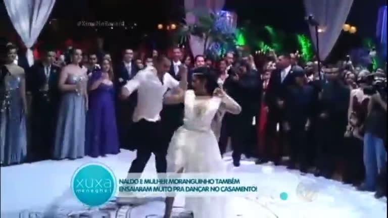 Veja como foi a dança de Naldo e Ellen Cardoso no casamento ...