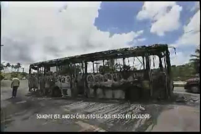 Ônibus queimados: prejuízo estimado em R$ 3 milhões - Bahia - R7 ...