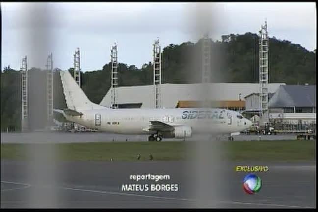 Sem um dos motores, avião faz pouso forçado - Bahia - R7 Cidade ...