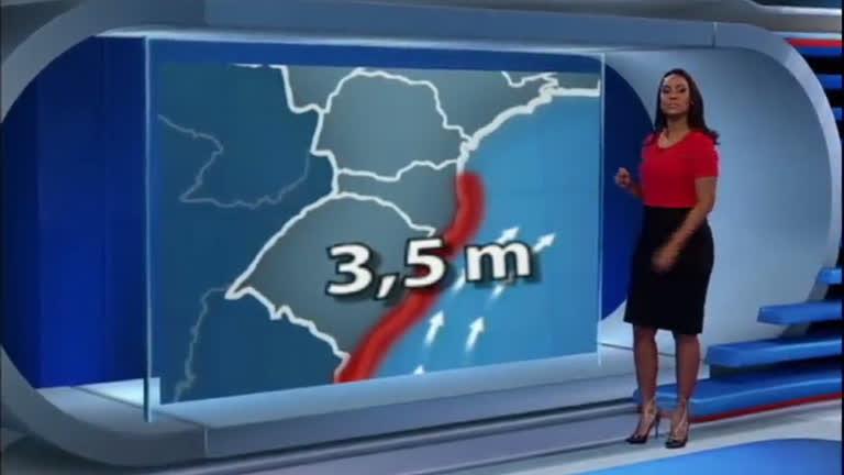 Alerta para ventos fortes entre o Sul e Sudeste do País - Notícias ...