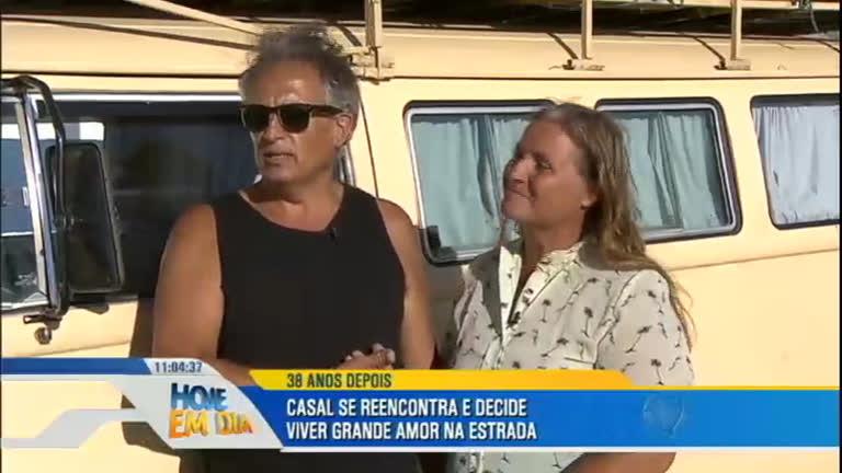 Casal se reencontra após 38 anos e vive história de amor ...