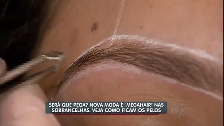 """A nova moda é """"megahair"""" nas sobrancelhas - Notícias - R7 ..."""