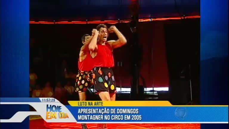 Veja apresentação feita por Domingos Montagner no circo em 2005 ...