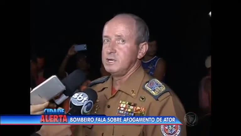Bombeiro fala sobre os riscos do local onde o ator morreu - Notícias ...