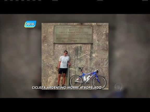 Ciclista argentino morre atropelado por um ônibus na zona norte do ...