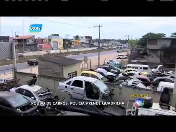 Quadrilha especializada em roubo e desmanche de carros é presa ...