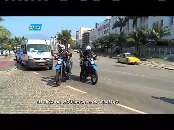 Após arrastão, segurança será reforçada na praia de Copacabana ...