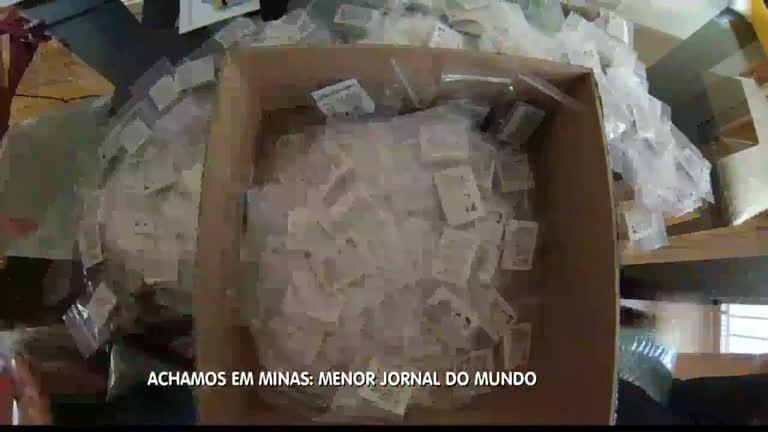 Achamos em Minas: Menor jornal do mundo é relançado em ...