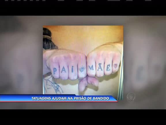 Tatuagens ajudam na prisão de bandido - Rio de Janeiro - R7 ...