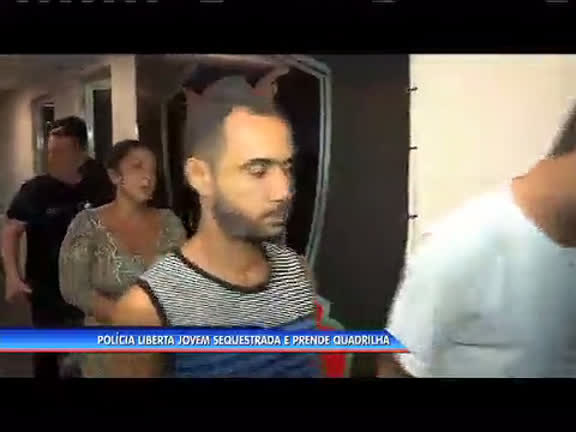 Polícia liberta jovem sequestrado e prende quadrilha - Rio de ...