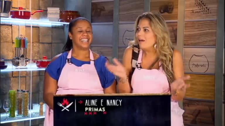 Aline e Nancy vencem Desafio em Dupla e ganham três desejos da ...