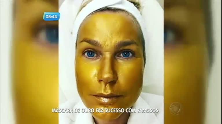 Máscara de ouro é o novo tratamento estético das famosas ...