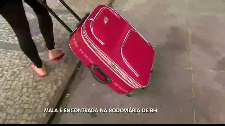 Taxista vai embora com mala de passageira