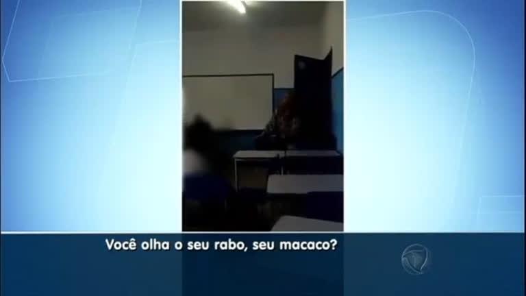 Flagra: professora faz ofensas racistas contra aluno em escola no ...