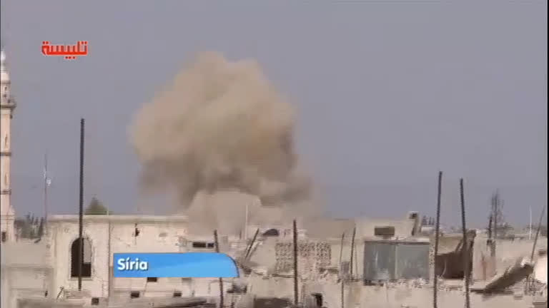 Clínica médica é alvo de ataques na Síria - Notícias - R7 Jornal da ...