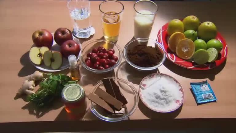 Descubra a relação entre alimentos e a voz no Domingo Espetacular