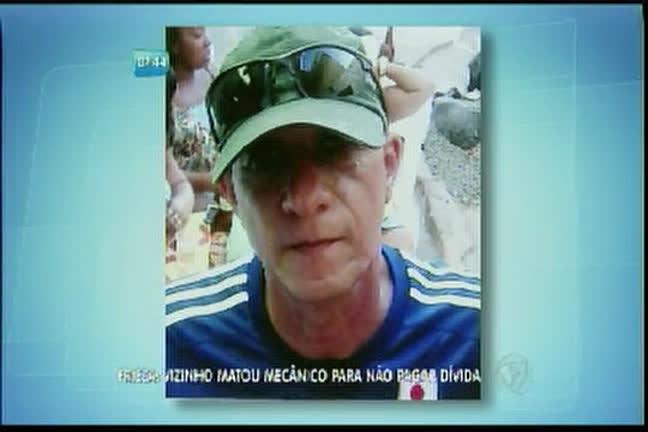 Frieza: Vizinho matou mecânico para não pagar dívida