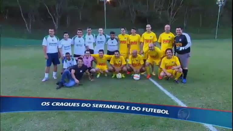 Bola e viola: cantor Rick reúne sertanejos para o futebol - Esportes ...