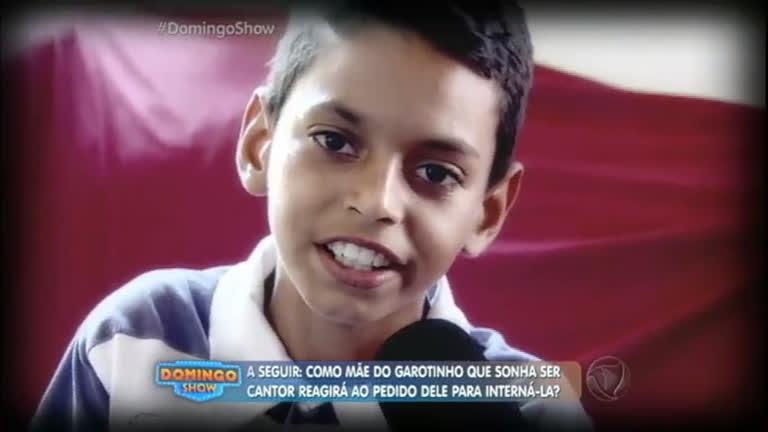 Conheça a história do menino de 11 anos que sonha em ser…