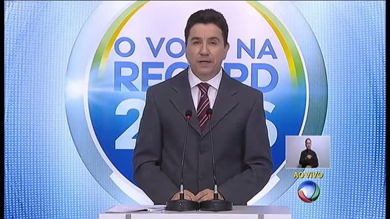 Eleições 2016: debate entre candidatos à Prefeitura de Belo ...