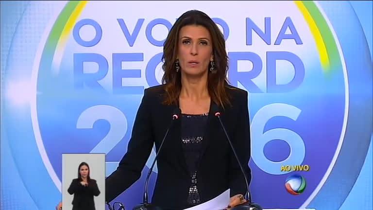 Eleições 2016: debate entre candidatos à Prefeitura do Rio de Janeiro