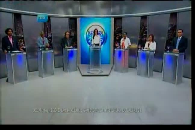 Debate na Record Bahia reúne 6 candidatos à prefeitura…