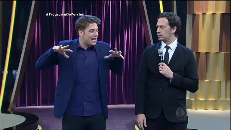 Porchat e Cambota ficam íntimos da plateia no 'Resta Um ...
