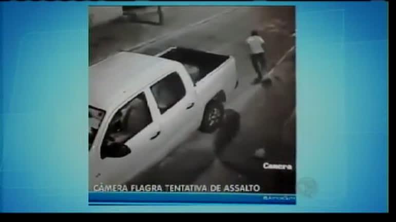 Câmera flagra tentativa de assalto - Bahia - R7 Balanço Geral BA