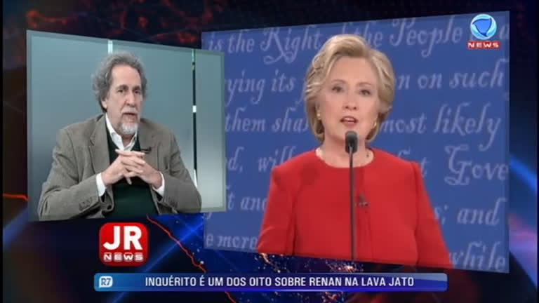 Debate entre Hillary e Trump causa polêmica nos EUA; Nirlando comenta