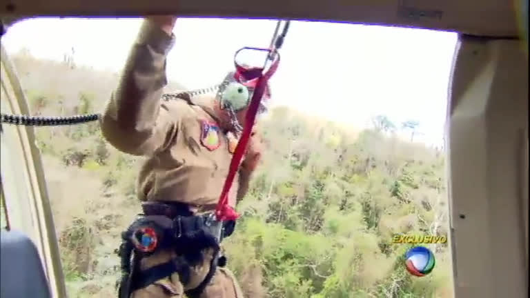 Série mostra o trabalho dos brigadistas no combate ao incêndio florestal