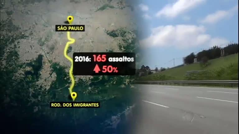Alerta: aumenta número de assaltos em rodovias de São Paulo ...