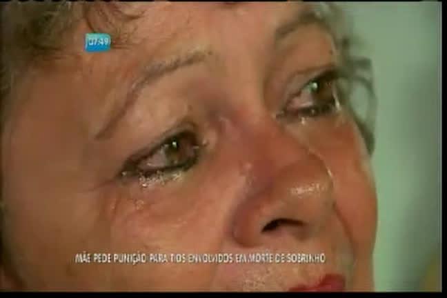 Mãe pede punição para tios envolvidos na morte de sobrinho ...
