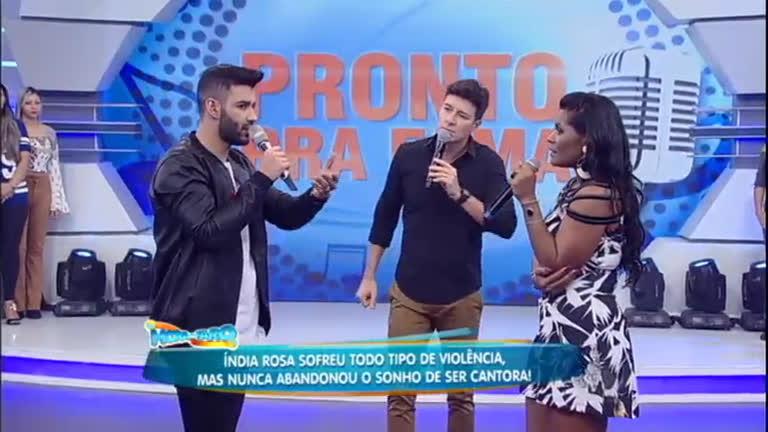 Índia Rosa canta com Gusttavo Lima e é convidada a gravar música ...