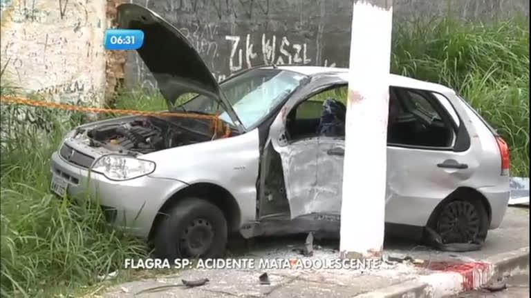Flagra: acidente mata adolescente em São Paulo - Notícias - R7 ...
