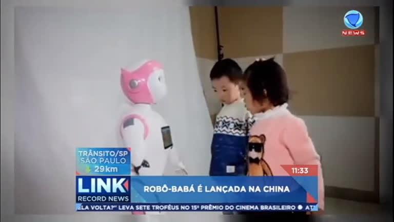 Robô- babá é lançado na China - Record News - R7 Link Record ...