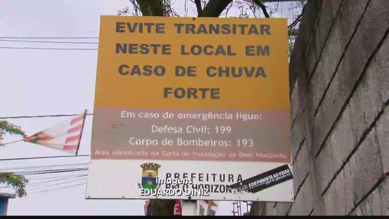 Belo Horizonte tem nove pontos com riscos de inundação - Notícias ...
