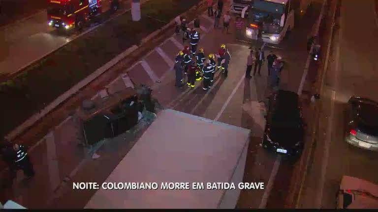 Colombiano morre em batida grave no Anel Rodoviário, em BH ...