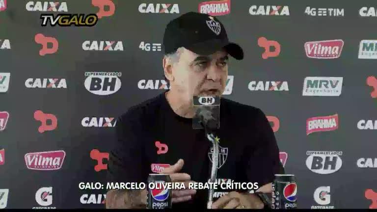 Esporte: Marcelo Oliveira fala sobre posição do Atlético no Brasileirão
