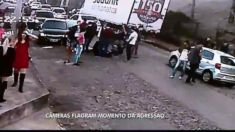 Polícia divulga vídeo da agressão a universitário em saída de boate ...