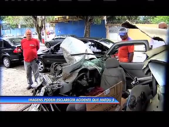 Imagens podem esclarecer acidente que matou cinco pessoas em ...