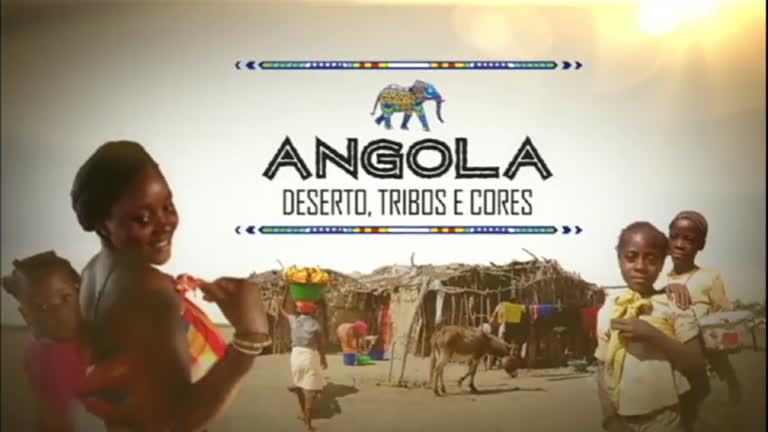 Série mostra como o povo angolano que vive em caverna e no ...