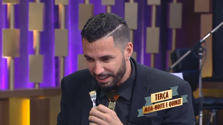 Latino responde perguntas polêmicas no Programa do Porchat ...